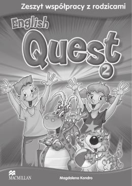 English Quest 2 - zeszyt współpracy z rodzicami