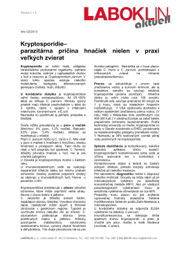 Kryptosporídie