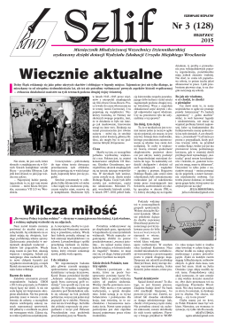 """Szlif"" nr 03 2015 - dziennikarzerp.eu | dziennikarzerp.eu"