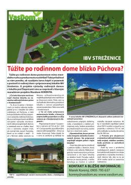 IBV Streženice info