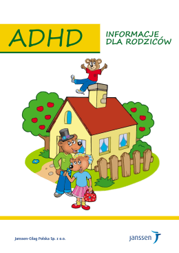 ADHD INFORMACJE DLA RODZICÓW - Centrum Diagnozy i Terapii