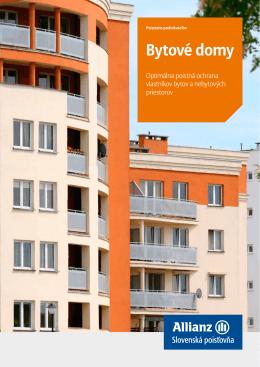 Bytové domy - Marián Bako, Allianz