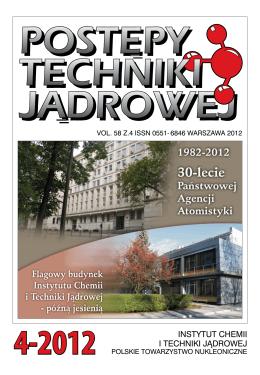 Postępy Techniki Jądrowej - Portal elektrownia jądrowa w Polsce