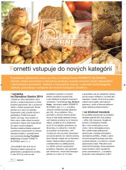 INSTORE 12/2013: Fornetti vstupuje do nových kategórií