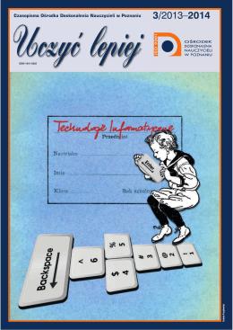 """""""Uczyć lepiej"""" 3/2013-2014 ( .pdf, 2,3 MB)"""