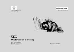 Schulz Między mitem a filozofią