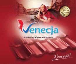 Katalog blachodachówka modułowa Venecja