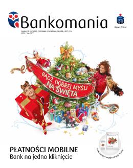 Płatności mobilne - Bankomania