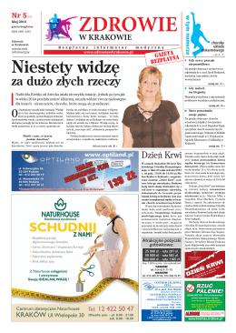 Niestety widzę - Zdrowie w Krakowie