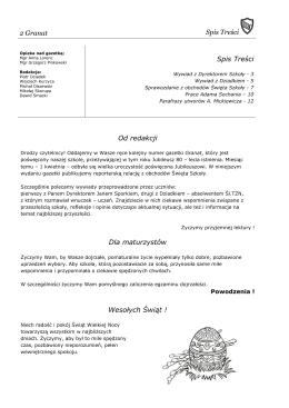 Wydanie Jubileuszowe - Śląskie Techniczne Zakłady Naukowe