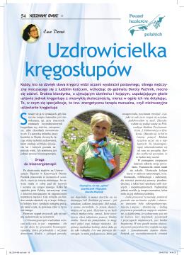 link do artykułu - Bioenergoterapeuta Dorota Pachnik
