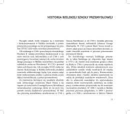 historia bielskiej szkoły przemysłowej
