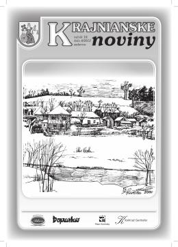 Krajnianske noviny číslo 4 (PDF – 16,3 MB)