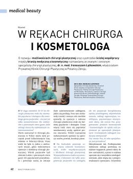 Zobacz plik PDF - Łątkowski Ireneusz, Gabinet Chirurgii Plastycznej