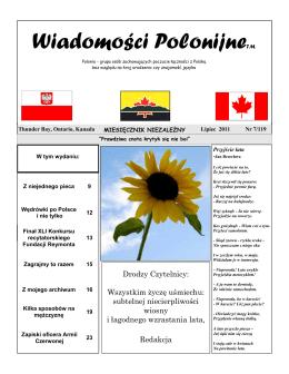 Wiadomości Polonijne