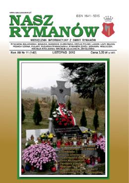 Listopad PDF - Nasz Rymanów