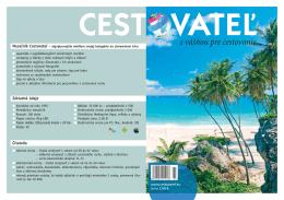 Mediakit Cestovatel 2014