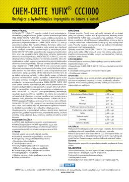 CHEM-CRETE YUFiX® CCC1000
