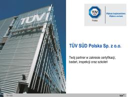 TÜV SÜD Polska Sp. z o.o.