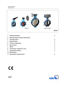 BOAX-B 1. Deklaracja zgodności 2 2. Deklaracja montażu