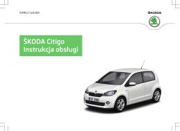 ŠKODA Citigo Instrukcja obsługi