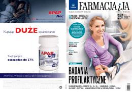 Marzec 2013 - Farmacja i Ja