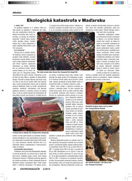 Ekologická katastrofa v Maďarsku