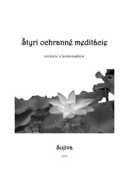 Štyri ochranné meditácie