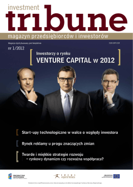 Investment Tribune nr 1/2012 - Secus Asset Management S.A.