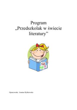 """Program """"Przedszkolak w świecie literatury"""""""
