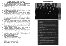 Neoprezbiterzy 2011