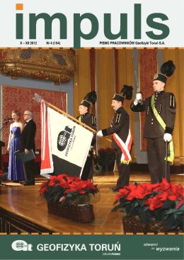 X – XII 2012 Nr 4 (154) PISMO PRACOWNIKÓW