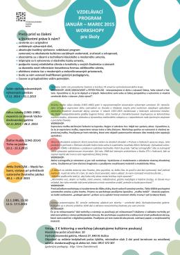 Vzdelávací program_2015 PDF