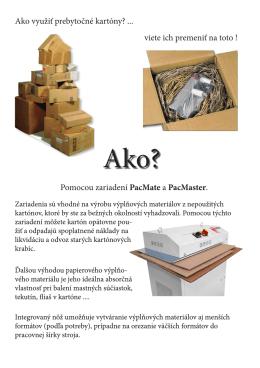 Ako využiť prebytočné kartóny? viete ich premeniť na toto