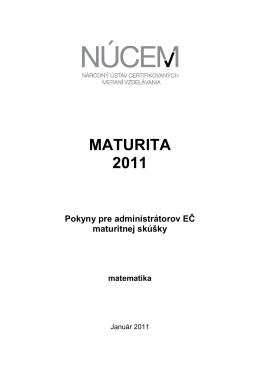MS 2011/Pokyny pre administrátorov EČ MS