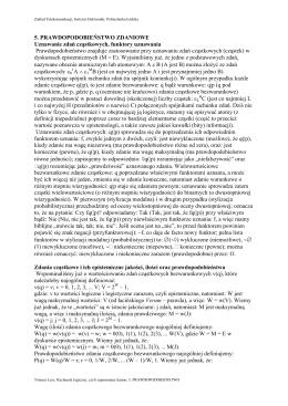 Prawdopodobieństwo - Instytut Elektroniki Politechniki Łódzkiej