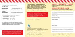 núdzový zdravotný preukaz emergency health card