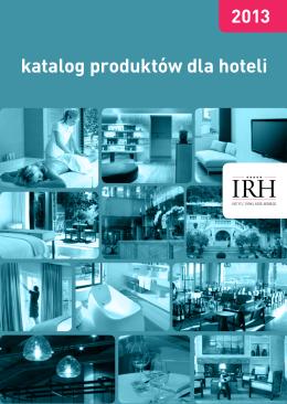 katalog produktów dla hoteli - Instytut Rynku Hotelarskiego