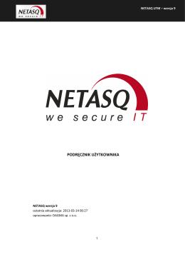 Podręcznik NETASQ V9