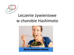 Leczenie żywieniowe w chorobie Hashimoto
