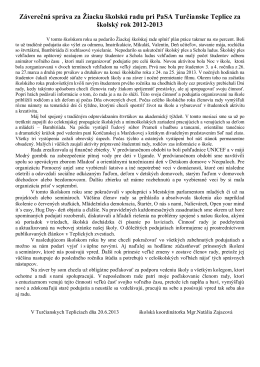 Záverečná správa za šk. rok 2012/2013 (PDF)