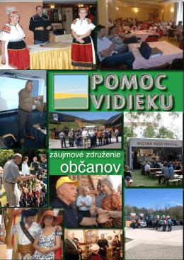 PDF dokumentu - Pomoc vidieku