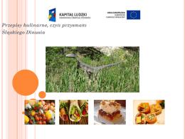 Przepisy kulinarne - czyli przysmaki Śląskiego Dinusia