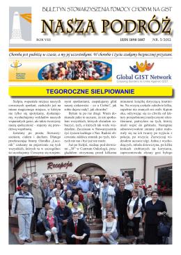 biuletyn 3/2012 - Stowarzyszenie Pomocy Chorym na GIST