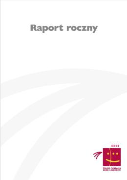 Raport 2010 - Polska Fundacja Dzieci i Młodzieży