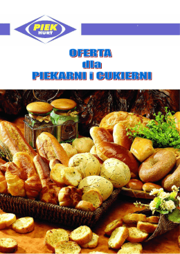Oferta dla piekarni i cukiernii.pdf - Piek-Hurt