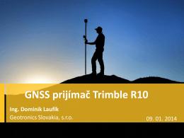 GNSS prijímač Trimble R10