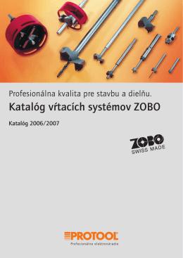 Katalóg vŕtacích systémov ZOBO - tts