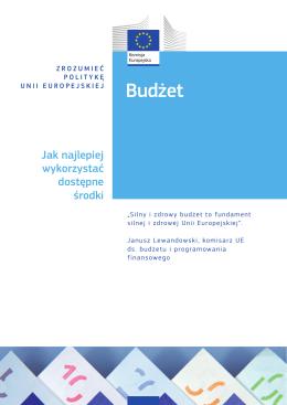 Budżet – Jak najlepiej wykorzystać dostępne środki – 2014