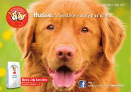 Husse. Szwedzkie karmy na miarę